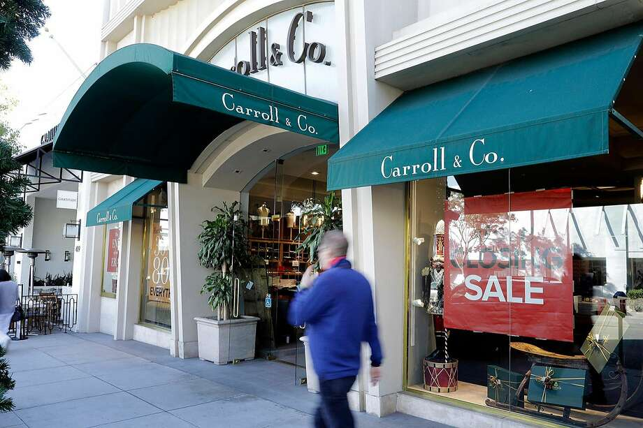 Beverly Hills shoppers have been largely outnumbered by tourists who aren't willing to pay Carroll's rather hefty prices. Photo: Myung J. Chun / Los Angeles Times