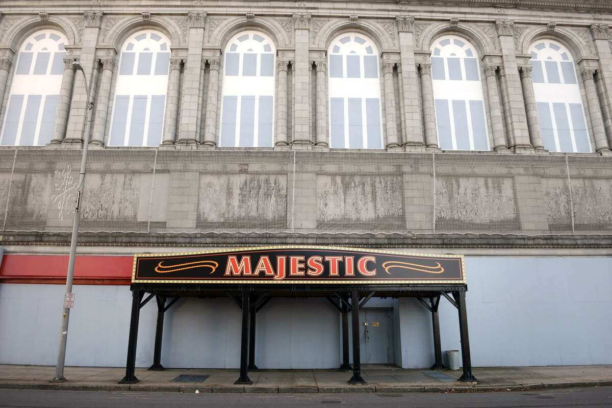 The Majestic Theater, on Main Street in downtown Bridgeport, Conn. Dec. 27, 2018.
