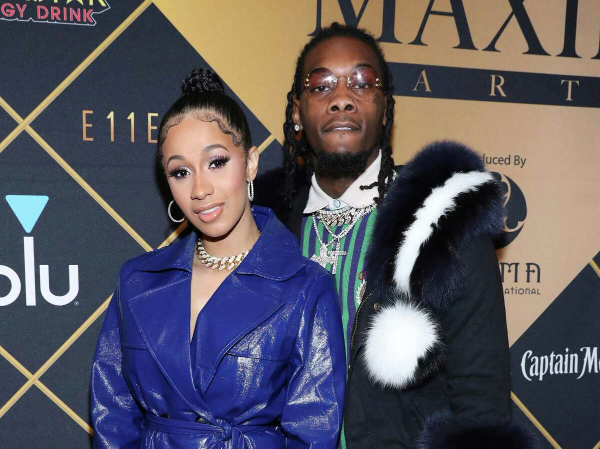 Cardi B and Offset: Amid constant rumors of infidelity, rapper Cardi B announced that she and husband Offset are no longer together via an Instagram video. The Migos trio member isn't giving up; he's launched an equally public campaign to work things out, including onstage apologies.