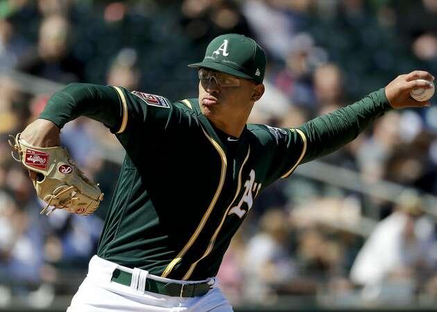 Major focus on Luzardo doesn't faze A's rotation hopeful