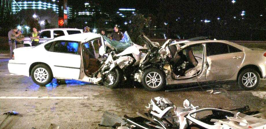 A suspected drunken driver caused a wrong-way head-on wreck that injured him and killed three people in 2012 on Interstate 45 near Woodlands Parkway. Just last year, Montgomery County had the second highest rate of DWI fatalities per population for Texas counties with populations exceeding 500,000, according to the DA's office. Most crashes took place between on a Sunday between 2 a.m. and 3 a.m. Additionally, between Thanksgiving Eve, Nov. 22, 2017 and Jan. 1, there were 322 DWI arrests made in Montgomery County.