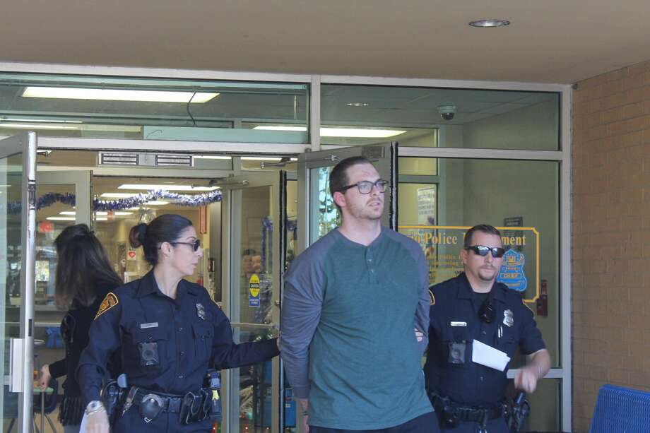 Mason Renz, 25, is accused of stealing electronics from a Pre-K 4 SA education center in the 3600 block of Medical Drive. Photo: Fares Sabawi/San Antonio Express-News