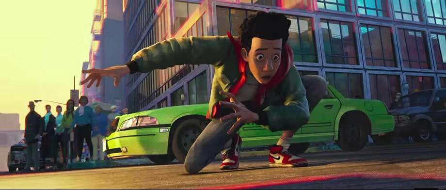 "Shameik Moore in ""Spider-Man: Into the Spider-Verse."" (Sony pictures)"