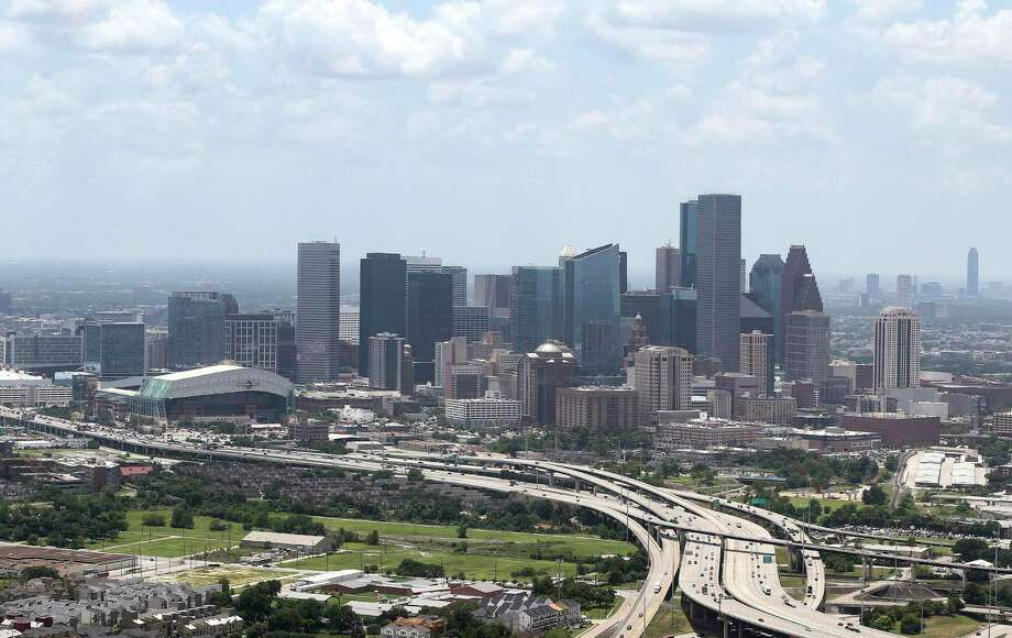 Houston is experiencing the largest net influx of millenials, according to Census data. Here, the downtown Houston skyline is seen from the east in July 2018. NEXT: Homes for sale in the Houston area's best school districts Photo: Elizabeth Conley, Houston Chronicle / Staff Photographer / © 2018 Houston Chronicle