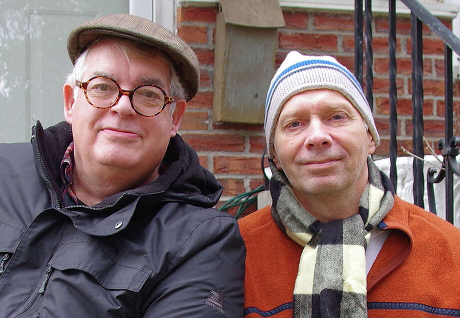 Photo: Malcolm Kogut, left, and Byron Nilsson, seen in 2017. (Photo provided) Photo: Provided