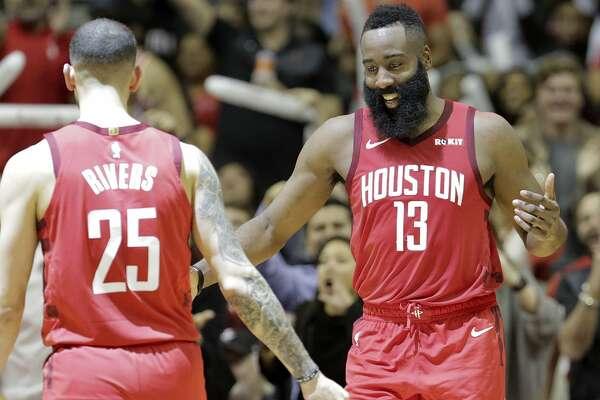 653ac12d3ae0 James Harden s 45 points lead Rockets past Celtics ...
