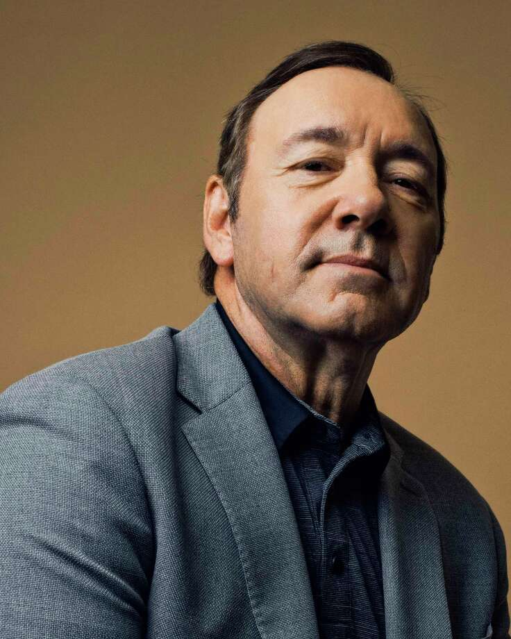FILE-- Kevin Spacey at the Juilliard School in New York, May 29, 2017. Spacey will be charged with a felony following an accusation of sexual assault made public last year, the authorities in Nantucket said on Dec. 24, 2018. The charge is in connection with an accusation of misconduct that was made by a former television anchor, Heather Unruh, who said that Spacey sexually assaulted her 18-year-old son in July 2016 at a bar in Nantucket. (Ryan Pfluger/The New York Times) Photo: RYAN PFLUGER / NYTNS