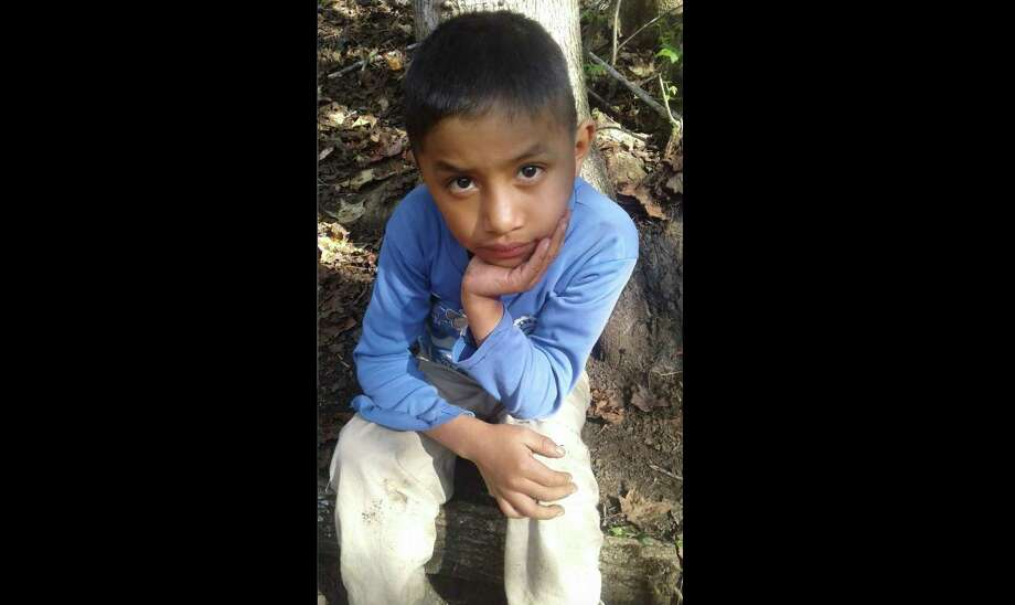 This Dec, 12, 2018 photo provided by Catarina Gomez on Thursday, Dec. 27, 2018, shows her half-brother Felipe Gomez Alonzo, 8, near her home in Yalambojoch, Guatemala. The 8-year-old boy died in U.S. custody at a New Mexico hospital on Christmas Eve after suffering a cough, vomiting and fever, authorities said. The cause is under investigation. (Catarina Gomez via AP) Photo: Catarina Gomez / Catarina Gomez