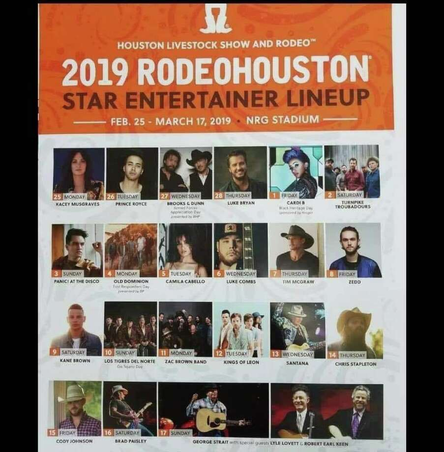 We Re Not Sure If This Leaked Rodeohouston Lineup Is Real