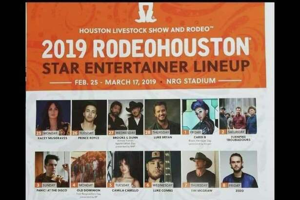 Rodeohouston Lineup Leaks Again On Ticketmaster