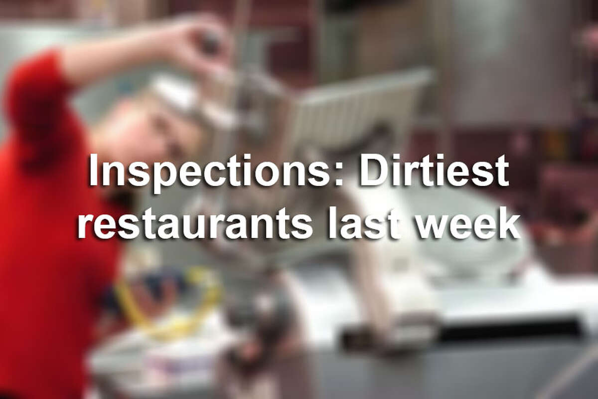 Click through the gallery to see San Antonio restaurants cited by health inspectors recently.