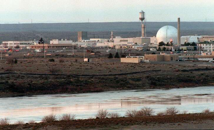 The Hanford Nuclear Reservation near Richland, Wash. Energy Secretary Rick Perry is trying to accelerate the cleanup of the contaminated site.