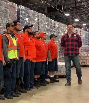 Busch Guy' in San Antonio to ensure 'not a single' Iowa