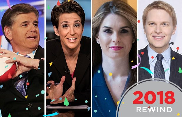 Chill Out Rachel Maddow >> 11 Media Winners of 2018, From Hope Hicks to Rachel Maddow (Photos) - SFGate