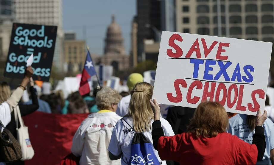 School financeAfter years of lawsuits, plus a 2016 ruling finding the state's public school finance system barely constitutional, the Texas Commission on Public School Finance reviewed the way public schools are funded and suggested several changes. (AP Photo/Eric Gay) Photo: Eric Gay, AP