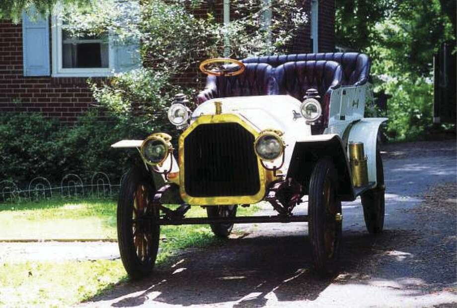 Records indicate that all the bumperless, 11-foot-long Model F Buicks left the factory with wooden bodies painted maroon, with red wheels and running gear.