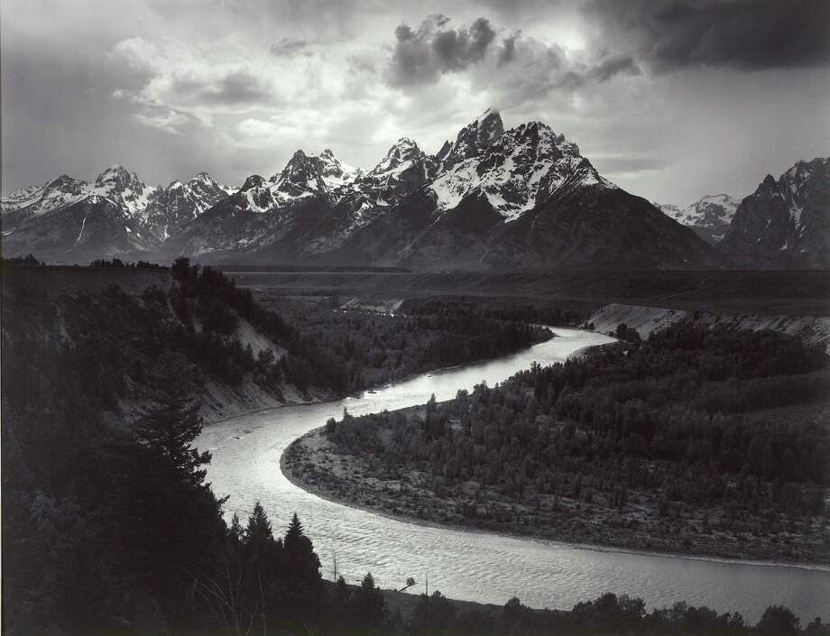 "Ansel Adams' ""The Tetons and Snake River, Grand Teton National Park, Wyoming,"" 1942. Photo: The Ansel Adams Publishing Rights Trust/The Lane Collection/Museum Of Fine Arts, Boston / The Ansel Adams Publishing Rights Trust"