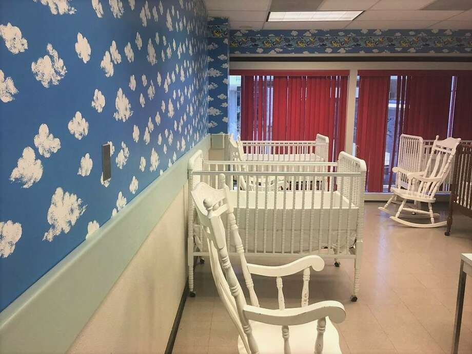 Baby nurseryDetails: Nurseries feature baby cribs and rocking chairs.Where to find it: Next to the chapel in Terminal B, opposite gates D8/D9. Photo: Houston Airports System