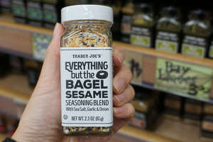 """Everything but the Bagel Sesame Seasoning Blend """"I make a green onion Belgian waffle with the Everything but the Bagel Sesame Seasoning Blend, cream cheese, and smoked salmon for special brunch dates. It's always a great crowd hit."""" – Claudette Zepeda-Wilkins of El Jardin (San Diego, CA)"""