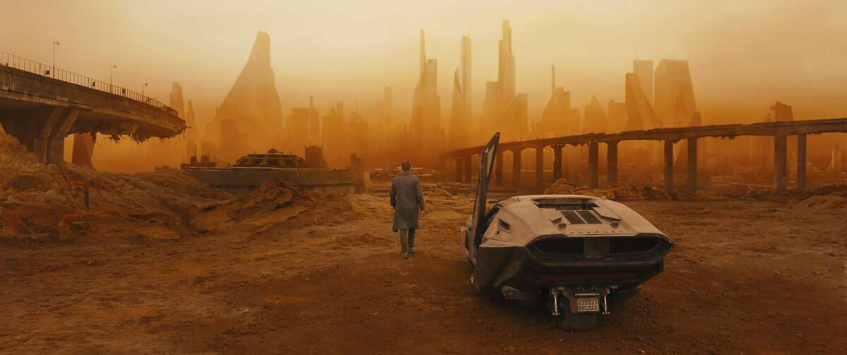 """This image released by Warner Bros. Pictures shows a scene from """"Blade Runner 2049."""" (Warner Bros. Pictures via AP)"""
