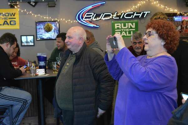 Jerry Schiano, founder of Jerry's Pizza on South Main Street in Middletown, marked 50 years in business Thursday afternoon as family, friends, well wishers, customers and others stopped by to enjoy a meal and reminisce.
