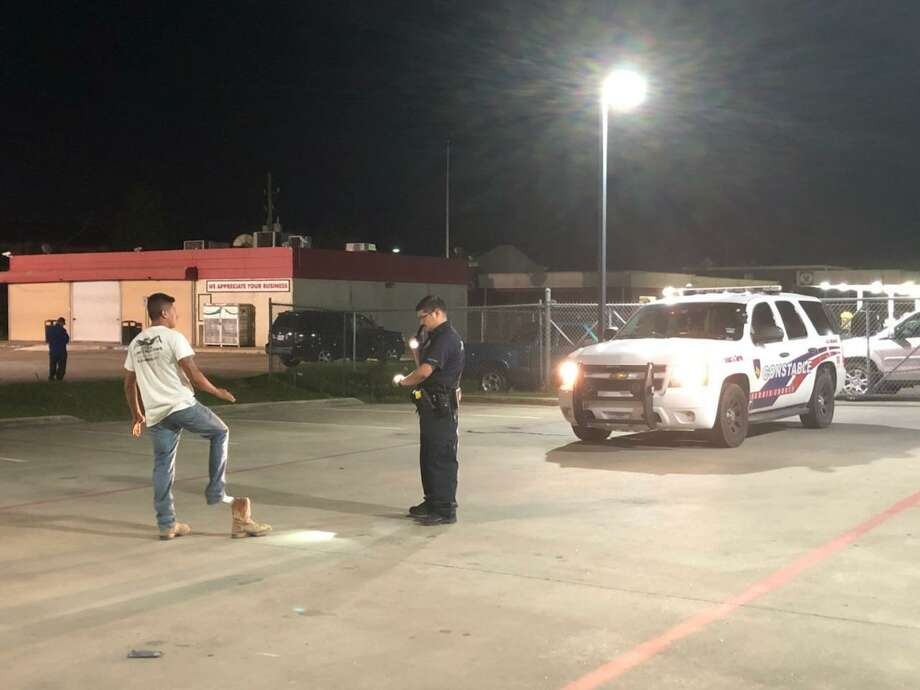 Harris County Precinct 4 Constable's Office deputies are cracking down on vehicular crimes, including drunk and reckless driving. Photo: Harris County Precinct 4 Constable's Office
