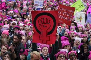 Thousands arrive to the Women's March rally in Washington, Jan. 21, 2017. Identity politics are said to beset progressives, but there is a way to get this right.