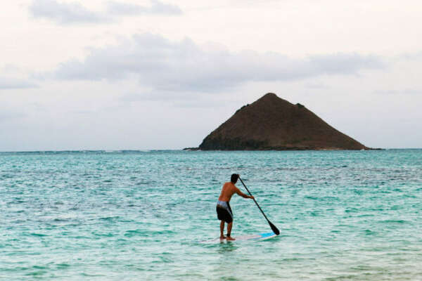 Oahu, HI Volcanic landscapes, dramatic coastlines, and turquoise waters make wellness the default setting on this island paradise. Paddleboard Kailua Beach Park, hike Maunawili Falls Trail, grab a pitaya bowl from Da Cove Health Bar & Café, surf the North Shore with Hans Hedemann Surf School and aloha your worries away.