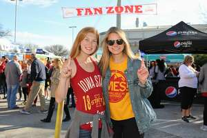 The free pregame festivities took place at Sunset Station on Friday, December 28, 2018. The Valero Alamo Bowl Fan Zone contained interactive games, food, face painting, and music.