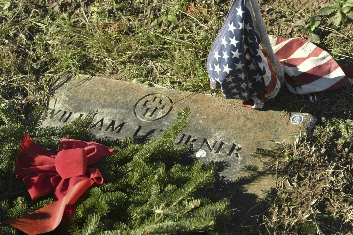 Flags on many veteran's graves in the Blanco Cemetery have fallen. Nathan Burden, 17, has a deep respect for veterans. For his Eagle Scout project, he has designed and obtained material and volunteer support to build flag holders for the graves of military veterans.