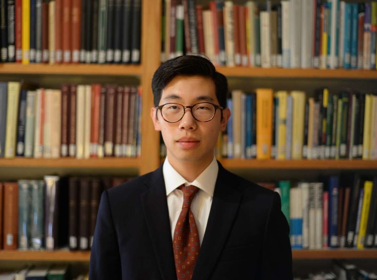 Edward Huang, a UC Berkeley applied math student, is this year's