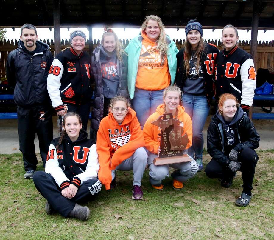 The Ubly girls cross country team easily won its fifth straight regional championship. Photo: Tribune File Photo