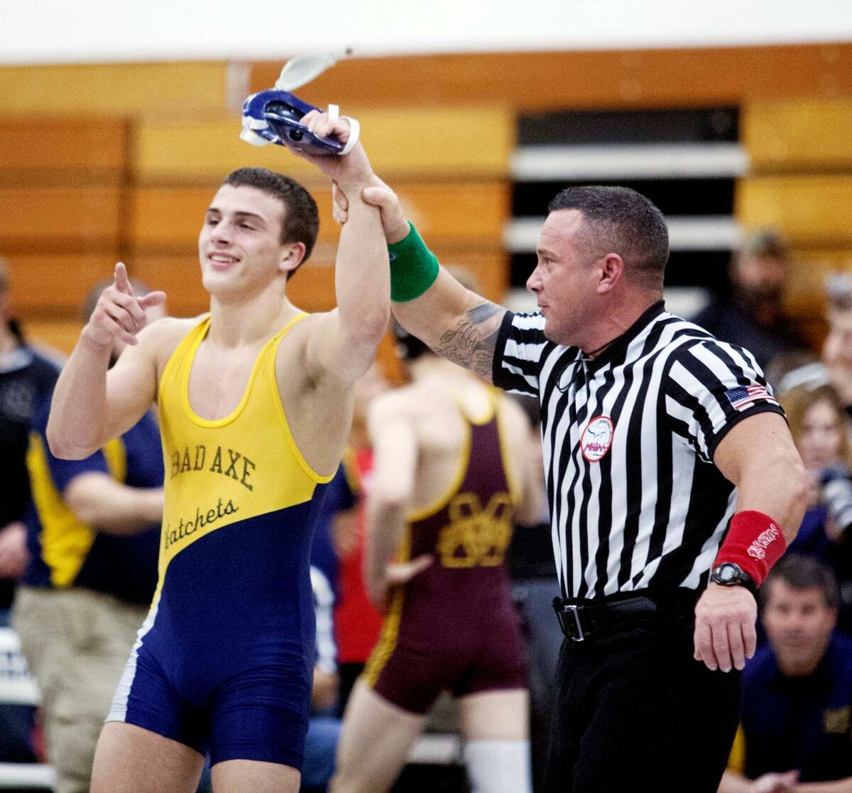 Bad Axe's Ryan Wehner showed plenty of character, with his third place finish at the state finals.