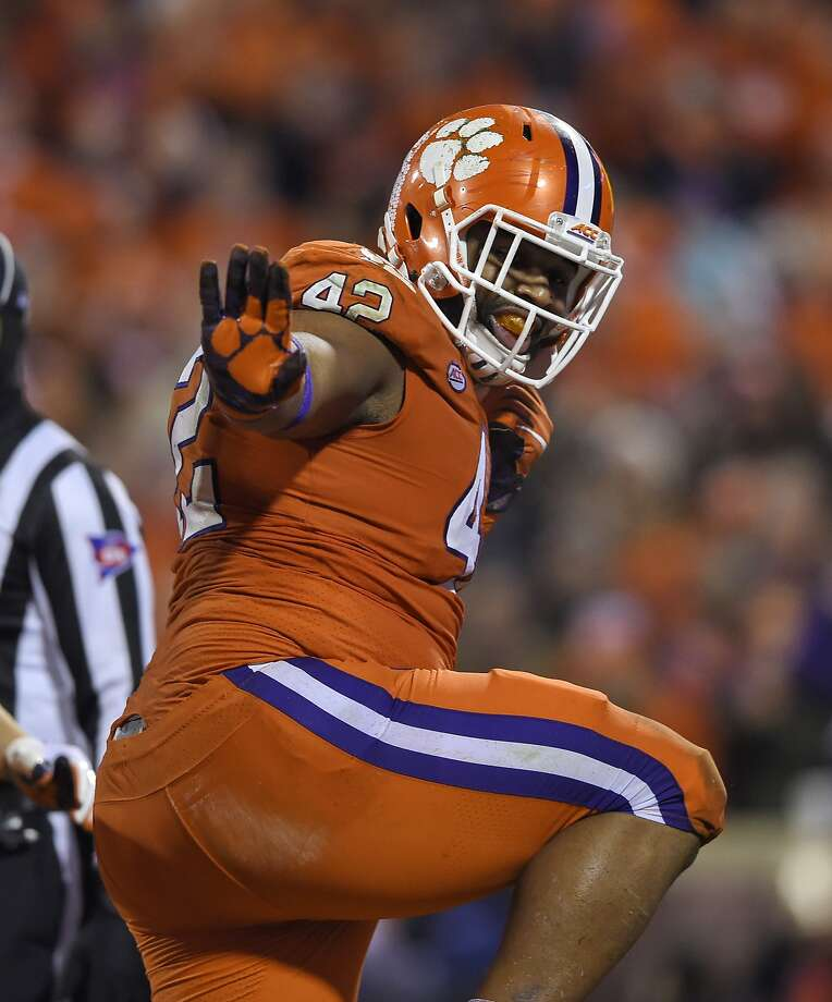 DEFENSIVE TACKLE CHRISTIAN WILKINS, CLEMSON 