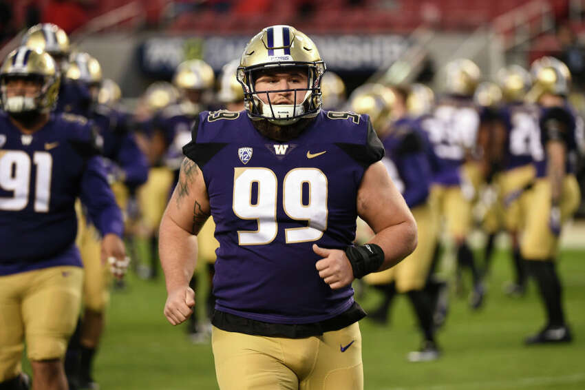 Greg Gaines, Los Angeles Rams Gaines, the next Husky off the board joins Rapp in the City of Angels as the 134th overall pick. Regarded as a rock-solid presence in the center of the defensive line, Gaines is the type of unflashy, no-nonsense pick that hard-nosed DCs like Wade Phillips love. He gets to join a defensive line that already features maybe the best defensive player in the game in Aaron Donald, who will surely have some good pointers for the rookie.