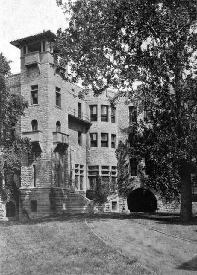 Monticello Seminary's West Tower. Photo: For The Telegraph
