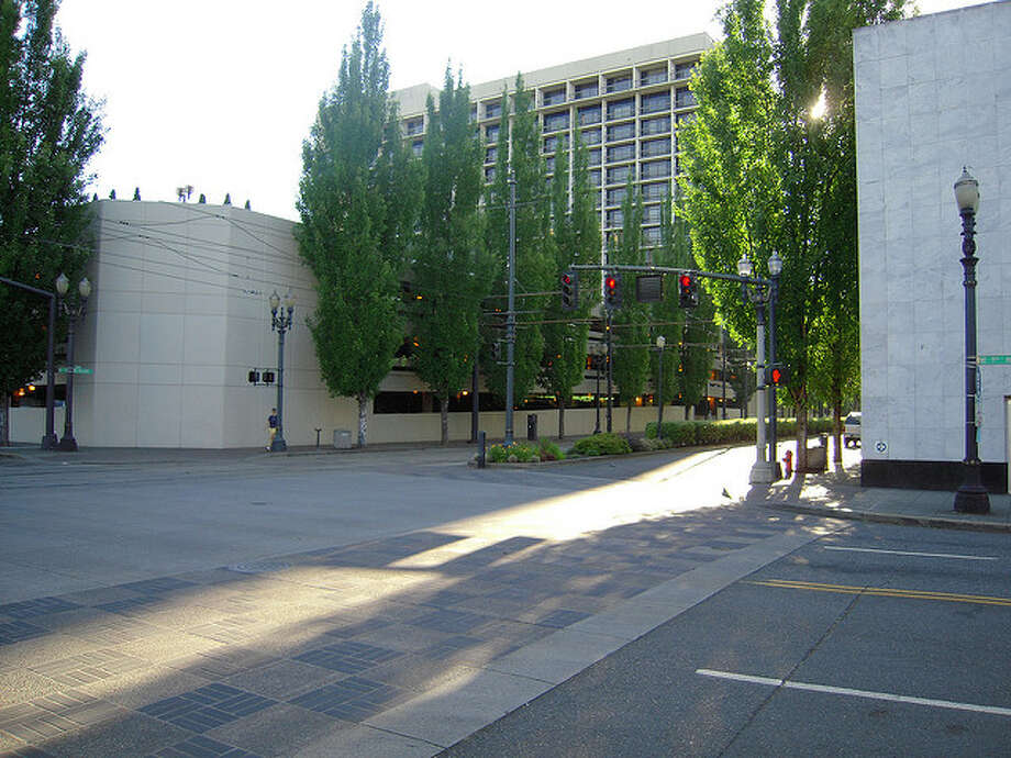 File photo ofDoubleTree Portland in 2008. Photo: Photo By Tracie Hall OnFlickr