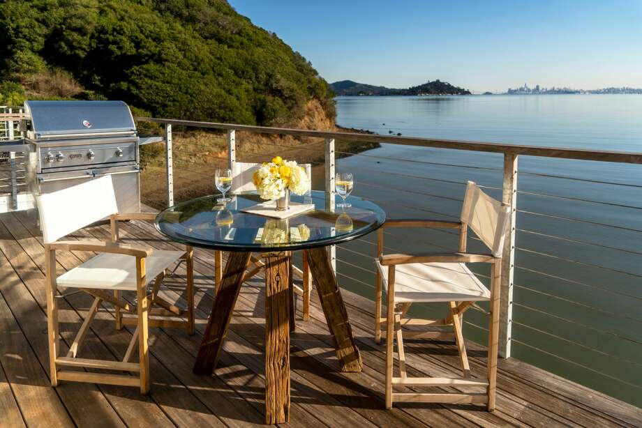 Stunning luxury, views, and price tag: this waterfront Tiburon condo asks over $16K a month. Photo: Scott Fin Photography