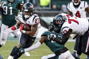 Last weekend's return of D'Onta Foreman to the running game failed to help reinvigorate a stagnant Texans ground attack.