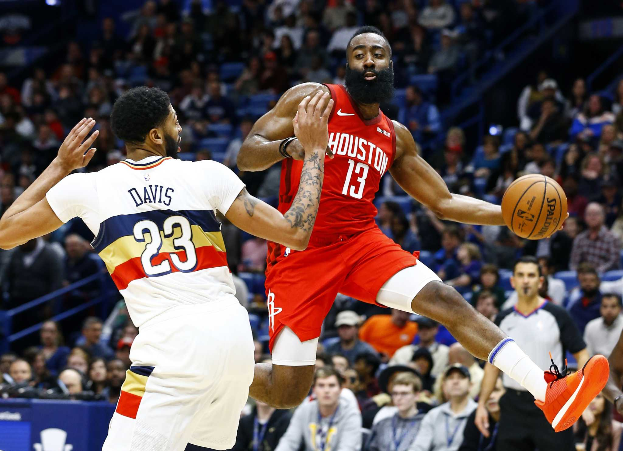 Rockets guard James Harden named Western Conference Player ...