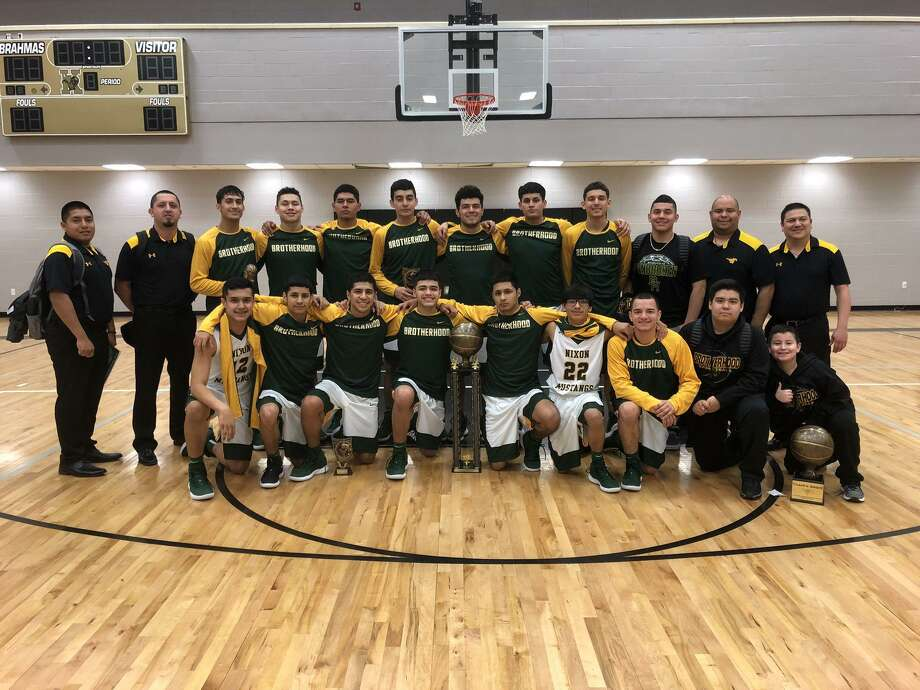 Nixon beat Los Fresnos 75-35 in the championship game Saturday to win the Kingsville tournament. Photo: Courtesy Photo