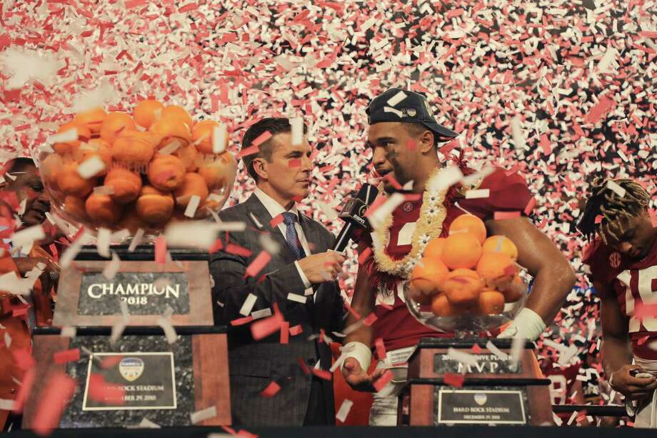 Alabama heads back to title game after Orange Bowl win ...