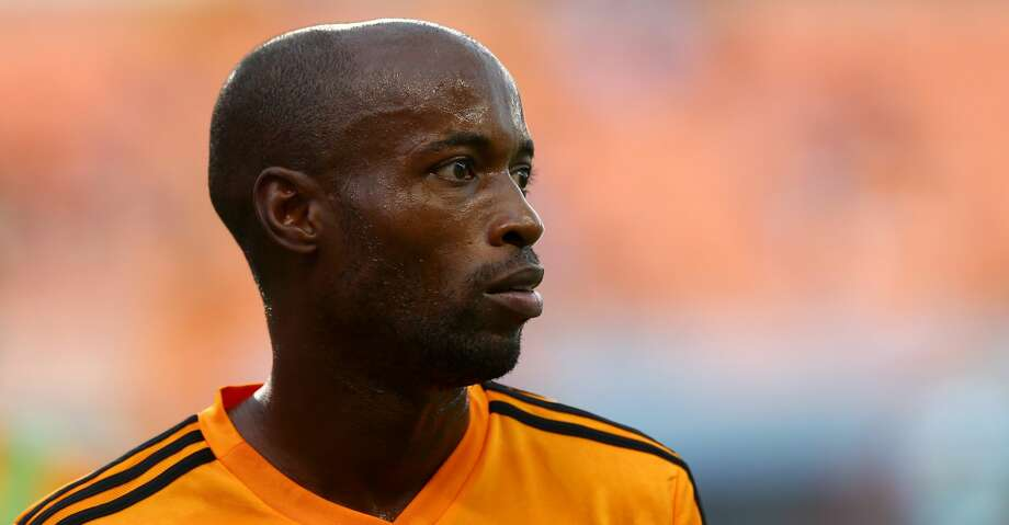 Houston Dynamo midfielder DaMarcus Beasley (7) before the MLS game against the Los Angeles FC at BBVA Compass Stadium Tuesday, July 3, 2018, in Houston. ( Godofredo A. Vasquez / Houston Chronicle ) Photo: Godofredo A. Vasquez/Houston Chronicle