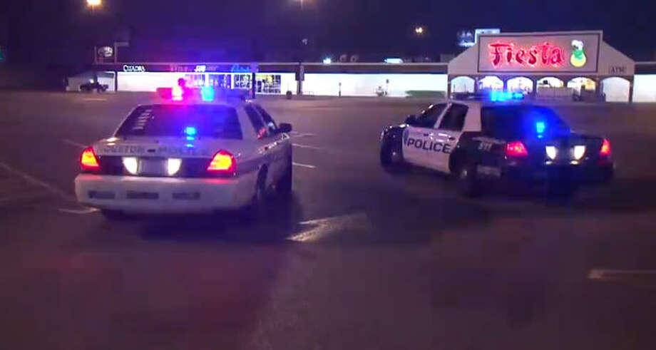 A carjacker shot a man in a Fiesta parking lot early Sunday. Photo: Metro Video