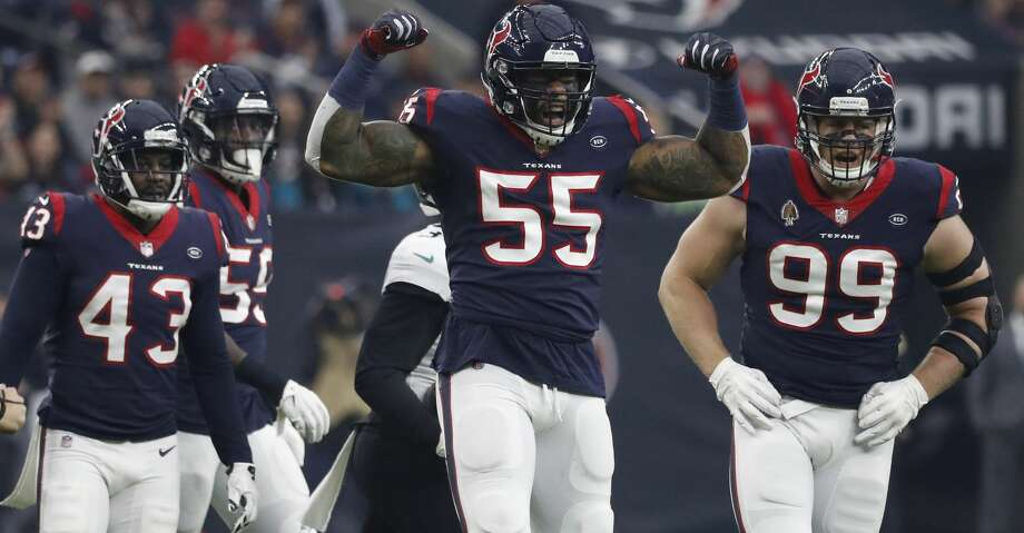 PHOTOS  From Sunday s Texans-Jaguars game Houston Texans inside linebacker  Benardrick McKinney (55 7dd0d7f8d