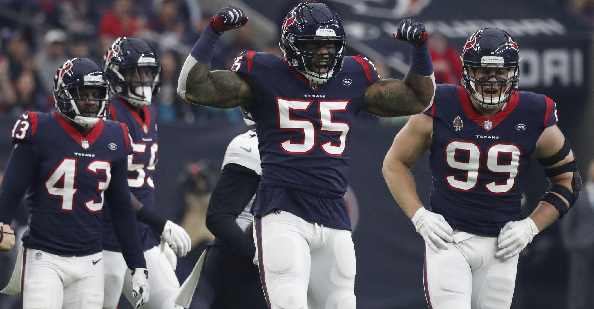 Texans Defeat Jaguars In Season Finale Win Afc South