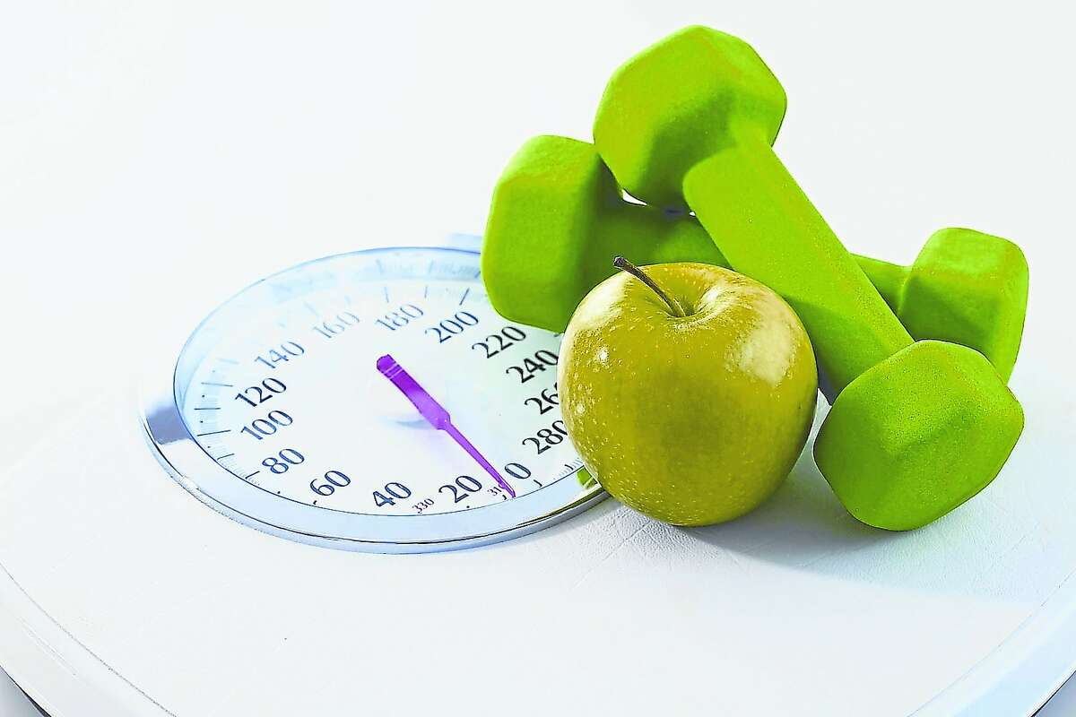 The most common New Year's resolutions involve losing weight and getting healthy.