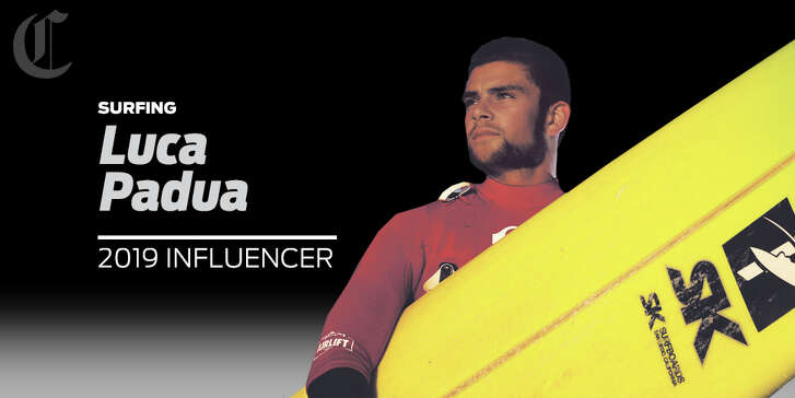 Surfer Luca Padua is one of our 2019 sports influencers.