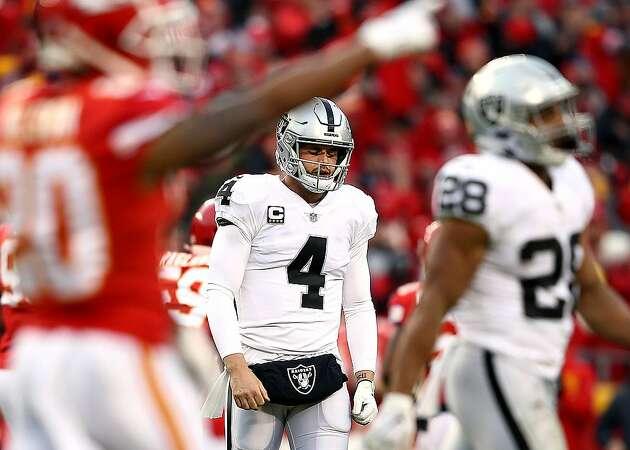 Raiders blown out 35-3 at Kansas City in season finale