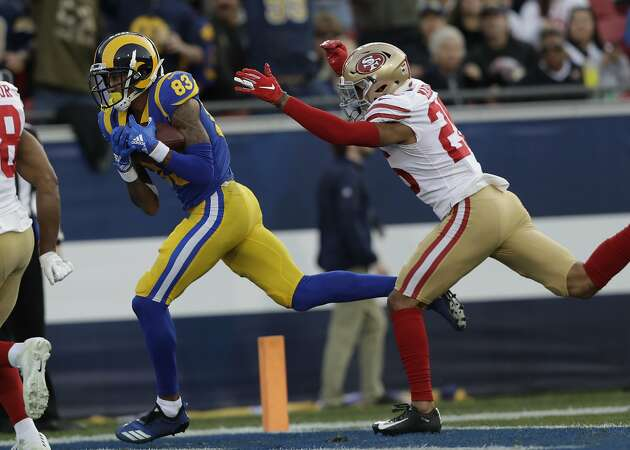 49ers' season ends with ugly loss to Rams, but George Kittle sets NFL record